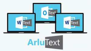 Immer und überall aktuell, die Textbausteinverwaltung ArluText